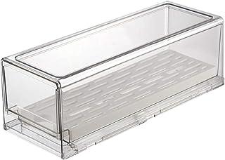 wangshang Boîte de rangement de cuisine avec poignée, empilable, boîte de rangement transparente pratique pour réfrigérate...