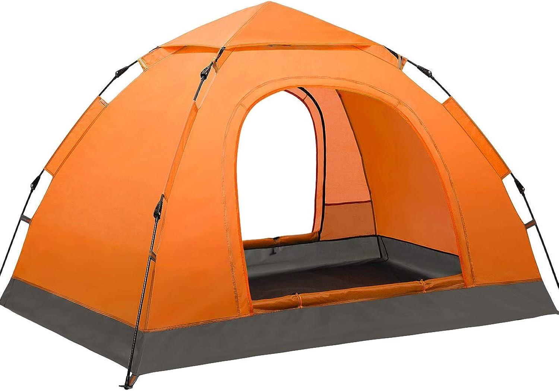 TSDS Camping Zelt 3-4 Personen Automatisches Sonnenschutzzelt Single Layer Outdoor Kletterset B07PS5HXKP  Ausgezeichnete Leistung