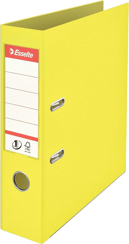 ESSELTE ColourIce Registratore in PPL con rinforzi in metallo dorso 7,5 cm f.to comm Blu 626504