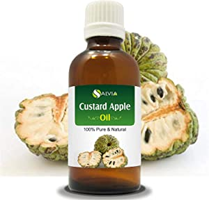 Custard Apple Seed Oil (Annona Squamosa) 100% Pure & Natural - Undiluted Uncut Cold Pressed Aromatherapy Carrier Oil (15ml)