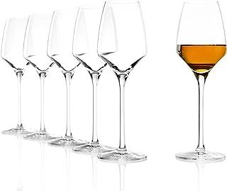 Stölzle Lausitz Süßweingläser Experience 190ml I Weiß- und Rotweingläser 6er Set I Weingläser spülmaschinenfest I schmale Weinkelche Set bruchsicher I wie mundgeblasen I höchste Qualität
