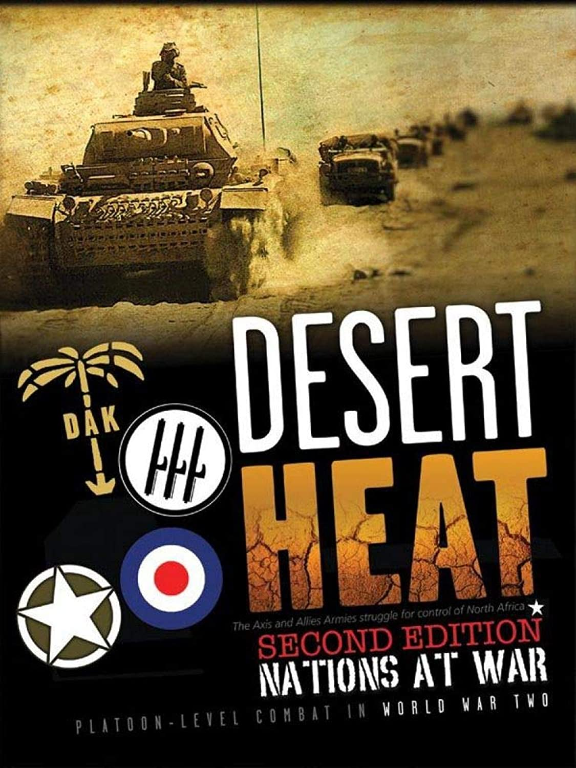 Nations at War  Desert Heat, 2nd Edition