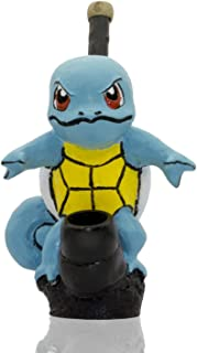 Handmade Tobacco Pipe Pokemon Hand Painted Art Collectible (SQUIRTLE)