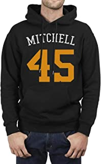 Marinas Long Sleeve 45 Donovan Mitchell Youth Mens Hoodie Pullover