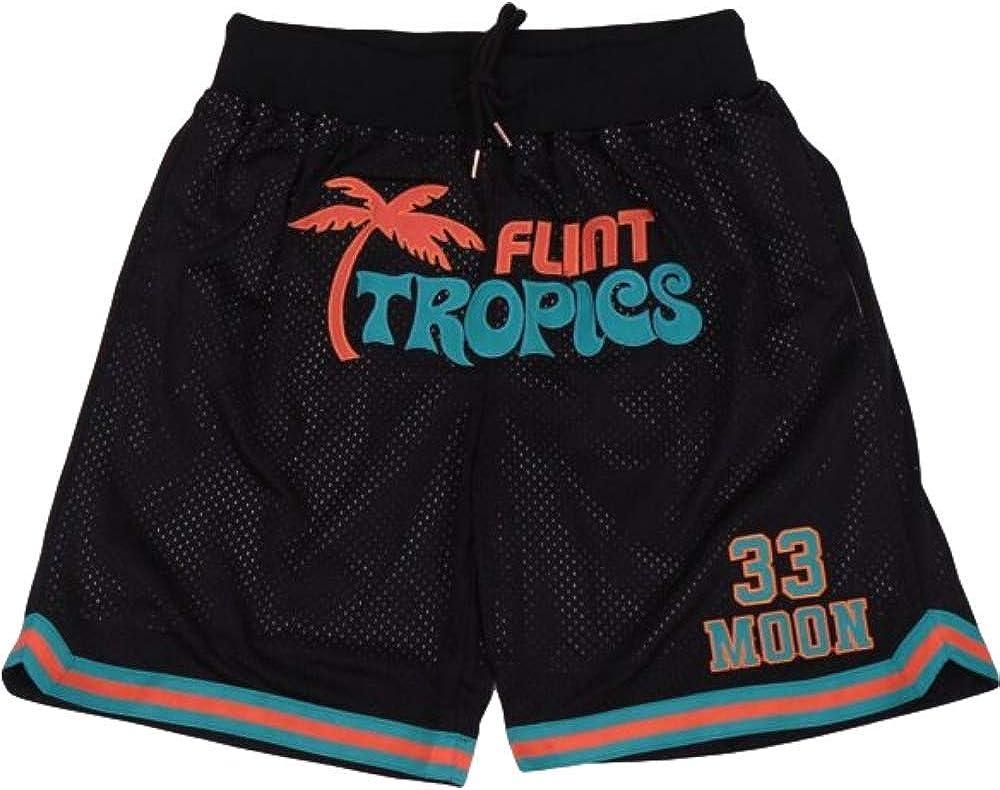 Over item handling ☆ Men's 33 Jackie Moon Sport Movie Pants Flint Tropics Ranking TOP18 Basketball