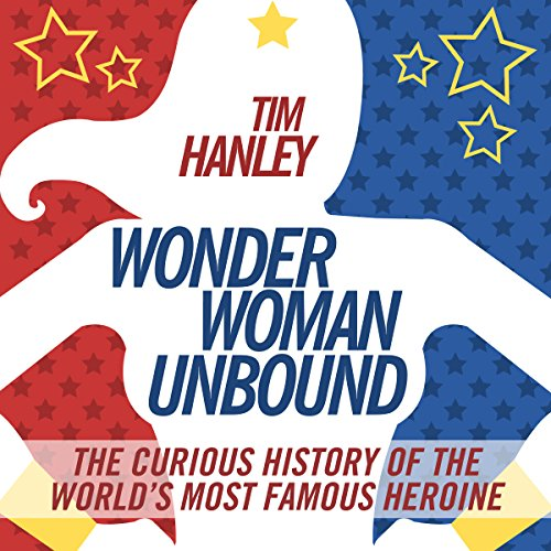 Wonder Woman Unbound audiobook cover art