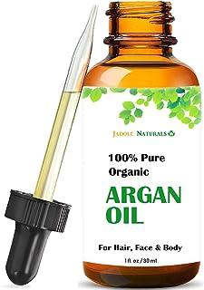 Organic Argan Oil For Hair, Skin, Face and Nail