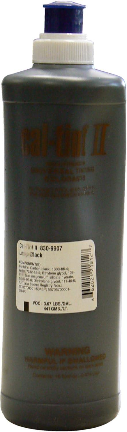 Chromaflo 830-9907 Genuine Max 79% OFF Cal-Tint II Lamp Black Colorants 16-Ounce