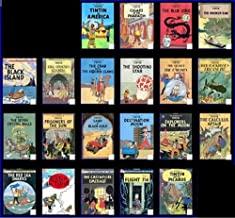 The Adventures Of Tintin by Hergé (Complete 1991 Series) (21 book set)