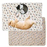 ATopoler 2pcs 76 * 52cm oder104*76cm Super Softe Warme und Weiche Decke für Haustier Katzenmatte...