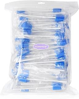 SUPVOX Forma Oral desechable del Diente de la Esponja 100pcs para Las esponjas de la Limpieza de la cavidad bucal