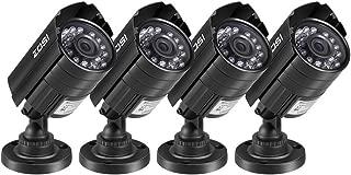 ZOSI 4PK 1920TVL 1080P 4-in-1 HD TVI/CVI/AHD/CVBS Security Camera 3.6mm Lens 24 IR-LEDs 2.0MPCCTV Camera Home Security Day/Night Waterproof Camera for 960H/ 720P / 1080N / 1080P Analog DVR Systems