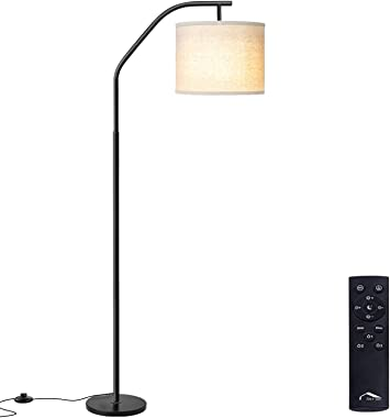 Floor Lamps, Super Bright LED Torchiere Metal Floor Lamps, LED Floor Light with Remote Control,Standing Lamp with Stepless Di