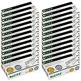 Punti per cucitrice, Maxi Bonus Pack 20 + 2 ESSELTE LEITZ, 24/6 mm, Zincato, 22.000 pezzi (20 + 2 X 1000 pezzi) (22, 24/6)