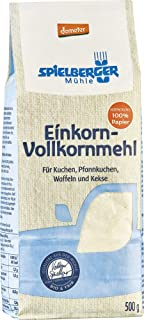 Spielberger Bio Einkorn-Vollkornmehl, demeter 6 x 500 gr