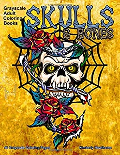 cute skull coloring pages