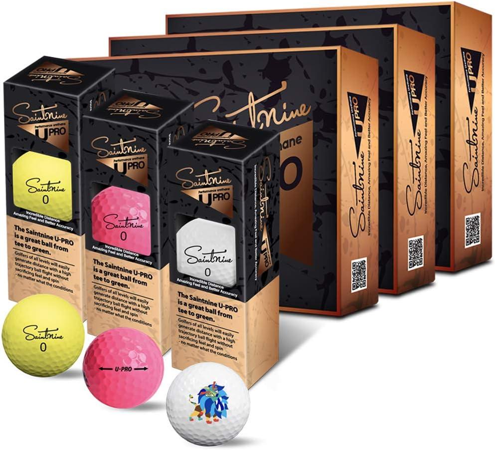 SAINTNINE U-Pro Golf Balls Max 80% OFF One Dozen Ranking TOP6