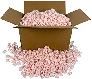StarBoxes Packing Peanuts Pink Anti Static - 3 cuft. Bag