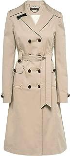 Miu Miu Luxury Fashion Womens MS16081IKIF0241 Beige Trench Coat | Fall Winter 19