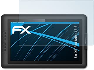 atFoliX Protector Pel/ícula Compatible con XP-Pen Artist 16 Pro L/ámina Protectora de Pantalla 2X Revestimiento antirreflejos HD FX Protecci/ón de Pantalla