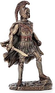 Veronese Design 9.75 Inch Alexander The Great Greek Roman Warrior Historical Antique Bronze Finish Statue Figurine Sculpture