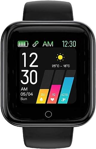Youth Choice Wireless Waterproof Bluetooth A6 SmartWatch Activity Tracker Smart Band for Men Women Boys Girls 1 1 Year Replacement Warranty
