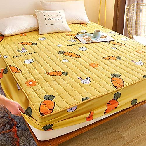 HPPSLT Protège Matelas Alèse de lit - Anti-Moisissures, Alèse Respirante, Drap de lit épais imperméable pièce Unique-1_200cmx220cm