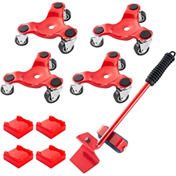 Bond tri Dollies 1PacK Moving Cup Dolly Caster Multi Mover car plow mary uses