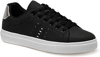CS20021 Siyah Kadın Sneaker Ayakkabı