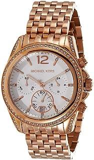 ساعة يد رسمية بعرض انالوج وسوار من الستانلس ستيل للنساء من مايكل كورس - موديل Mk5836