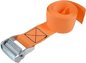 4 pezzi di nylon camma fibbia cravatta giù cinghie di carico bagaglio