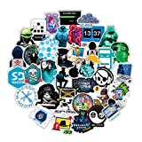 ARPA 100Pcs Hacker Dark Web Stickers for Laptops Books Cars Motorcycles Skateboards Bicycles Suitcases Skis Luggage Cup Hydro Flasks etc DHY