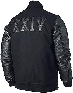 Kobe Destroyer XXIV Battle Michael B Jordan Leather Sleeves Jacket