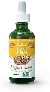 SweetLeaf Sweet Drops Liquid Stevia Sweetener, English Toffee, 2 Ounce