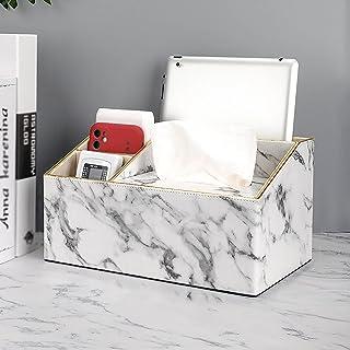 Stojak na ręczniki papierowe, papierowe pudełko na ręczniki, marmurkowana skrzynka na tkankę papierową, używany w łazienc...