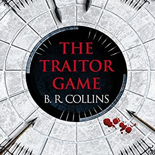 The Traitor Game audiobook cover art