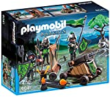 Playmobil Loup Chevaliers avec Catapulte