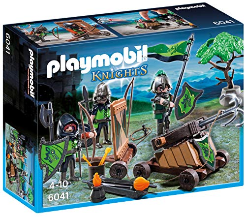 Playmobil P 6041 - Wolf Ritter met Catapult
