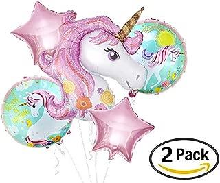 Giga Gud Unicorn Balloon Unicorn Party Supplies Believe in Unicorns for Girls Birthday Decorations Wedding Baby Shower Decoration (2 Pack)
