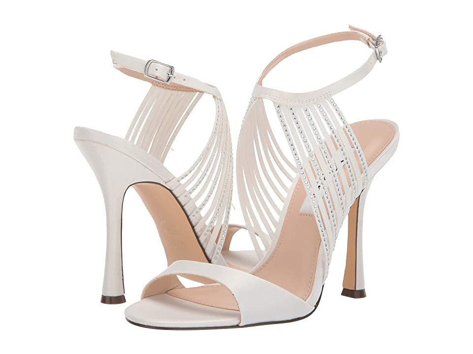 Nina Damaris (Ivory Satin) High Heels