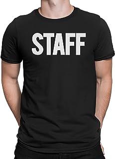 تي شيرت رجالي موظفي نيويورك FACTORY مطبوع عليه طباعة أمامية خلفية قميص موحد للفعاليات