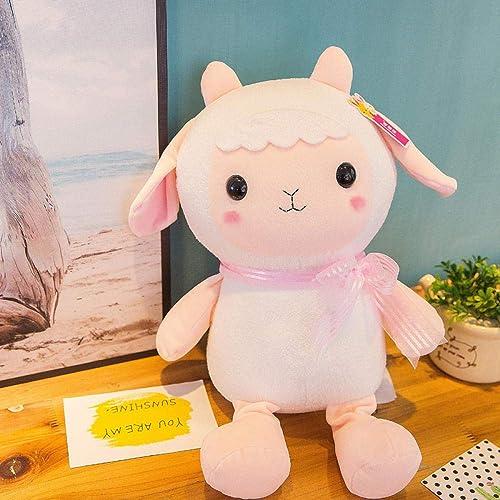 Plush tooyss Juguete De Peluche Filler Little Sheep Doll Almohada Unisex Baby Sleep Companion Descompresión Colección Regalo De Cumpleaños