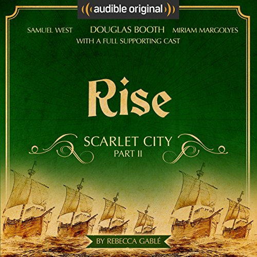 Rise: Scarlet City - Part II audiobook cover art