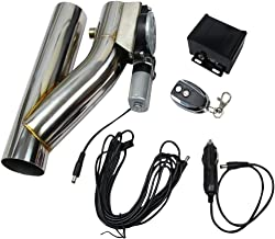 electric cutout exhaust system