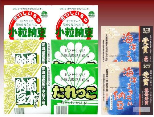 菊水オリジナル納豆Aセット 4種類×8点
