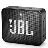 JBL GO 2 Portable Bluetooth Waterproof Speaker (Black) (Renewed)
