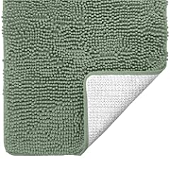 FINALLY A MAT YOU CAN PUT IN THE DRYER: While most other products are not machine dryable or can only be washed a few times (read their small print), our GORILLA GRIP Chenille Bath Rugs have been tested and can be machine washed and machine dried tim...