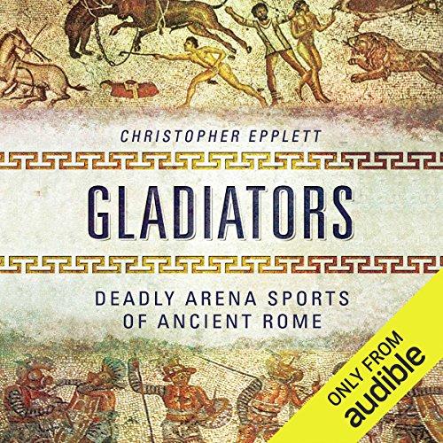 Gladiators audiobook cover art