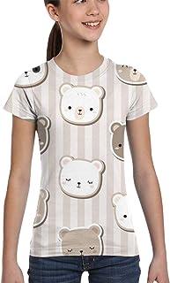 Girl T-Shirt Tee Youth Fashion Tops Vector Cartoon Character