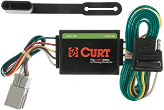 CURT 55336 Vehicle-Side Custom 4-Pin Trailer Wiring Harness for Select Honda, Acura, Isuzu Vehicles